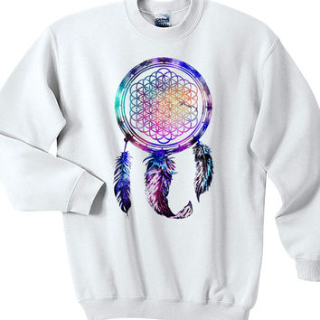 Bring Me The Horizon Dream Catcher Galaxy Logo Sweatshirts Unisex Sweater Unisex Sweatshirt Unisex Adult Sweater