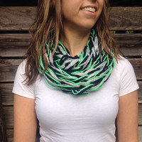 Seattle Seahawks- Sparkle Fan Infinity Scarf