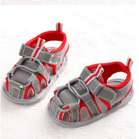 New style baby shoes baby boy shoes infant soft sole boys breathable hollow newborn boys toddler shoes