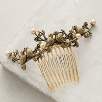 Epona Valley Lovebirds Comb in Gold Size: One Size Hair
