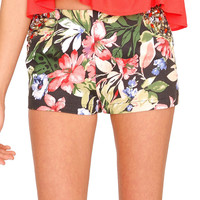 Tropical Candy Shorts - Floral Print