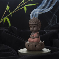 Creative Zen Cone Coil Incense Burner Holder Lotus Plate Home Decor