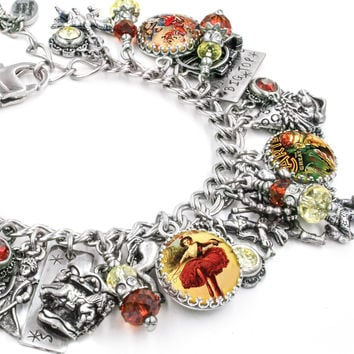 Under the Big Top, Circus Charm Bracelet