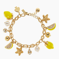 lemon tart charm bracelet - kate spade new york