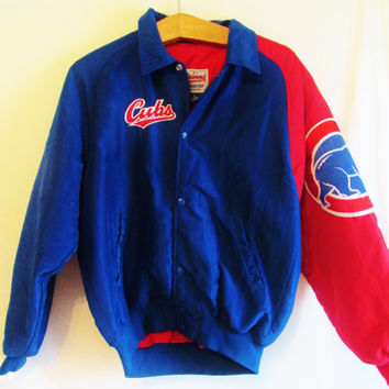 Vintage Retro Chicago Cubs Starter Jacket