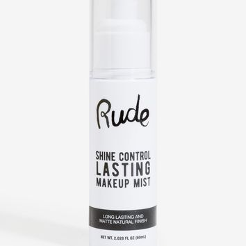 Rude Cosmetic Shine Control Make Up Mist