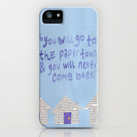 paper towns  iPhone & iPod Case by cgold