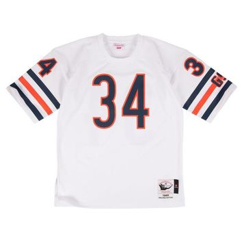 ONETOW Mitchell & Ness Walter Payton 1985 Authentic Jersey Chicago Bears In White