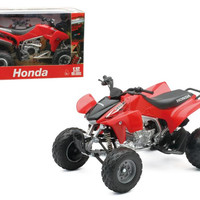 2009 Honda TRX 450R Red ATV Motorcycle 1-12 Diecast Model by New Ray
