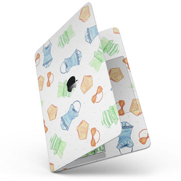 """The Colorful Bathing Suit Pattern - 13"""" MacBook Pro without Touch Bar Skin Kit"""
