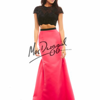 Mac Duggal Two Piece Prom Dress 48281A