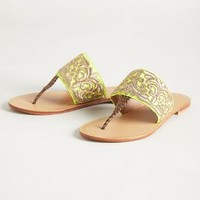 Needlework Sandals by Jasper & Jeera