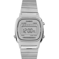 Casio | Casio Silver Mini Digital Watch at ASOS