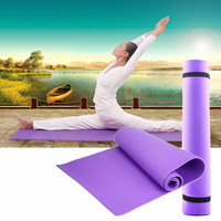 2017 6mm Thick exercise Yoga Mat Pad Non-Slip Lose Weight Exercise Fitness folding gymnastics mat for fitness