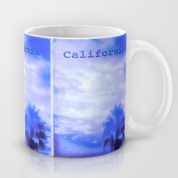 California Blue Mug by Nina May