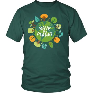 Ecology T Shirt - Save The Planet