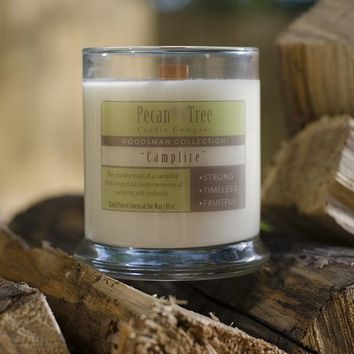 Campfire Soy Candle from Pecan Tree Candle Company