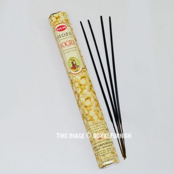 HEM Incense Sticks Best Sellers Precious Mogra, 20 Sticks Box on RoyalFurnish.com