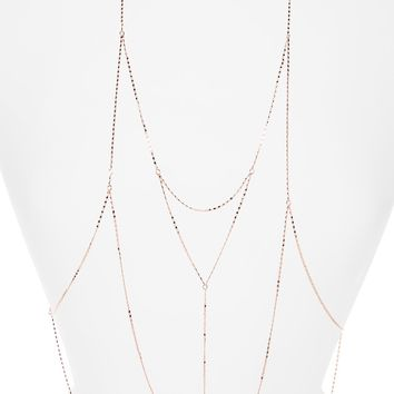 Topshop Fine Body Chain | Nordstrom