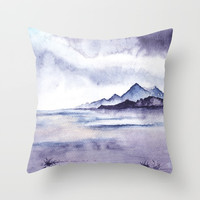 Abstract nature 05 Throw Pillow by Marco Gonzalez