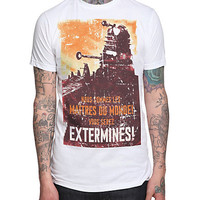 Doctor Who Dalek Extermines! T-Shirt | Hot Topic