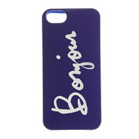 Bonjour case for iPhone 5/5S