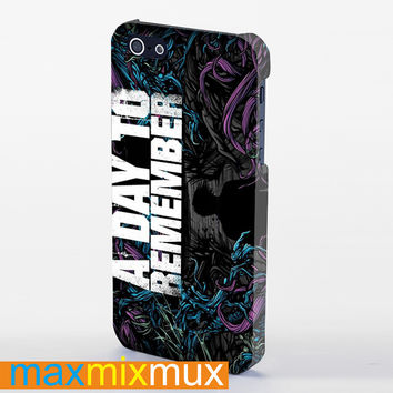 A Day To Remember iPhone 4/4S, 5/5S, 5C Series Full Wrap Case