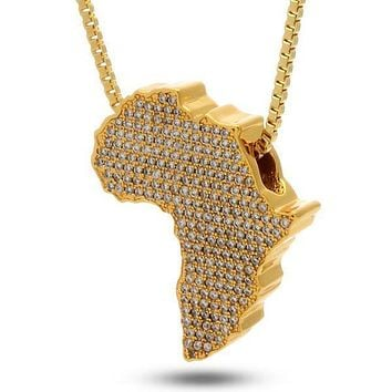 The Africa Necklace - Designed by Snoop Dogg x King Ice