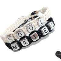 Soul Mates Couples Bracelets MADE TO ORDER-3 Week production time