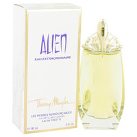 Alien Eau Extraordinaire Perfume by Thierry Mugler 3.0 oz Eau De Toilette Spray Refillable