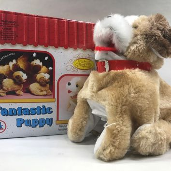 "Fantastic Puppy Flip Over Battery Operated 8"" SK-898"