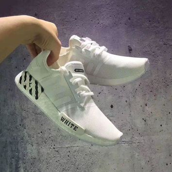 PEAPONS Adidas £ºNMD OFF WHITE Fashion Trending Running Sports Shoes