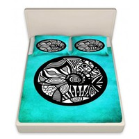 http://www.dianochedesigns.com/shop/shop-by-product/sheet/stylized/sheets-pam-gallegos-pom-graphic-design-abstract-circle-turquoise.html