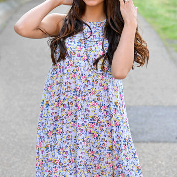 Beauty In The Breeze Floral Dress