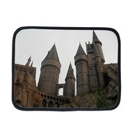 Harry Potter ipad 3 case, Hogwarts castle ipad sleeve, hogwarts school of witchcraft and wizardry ,wizarding world of harry potter, neoprene