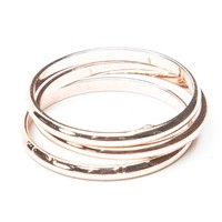 Brandy ♥ Melville | Rose Gold Three Ring Set - Rings - Jewelry - Accessories