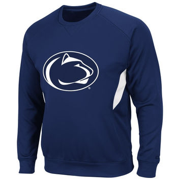 Penn State Nittany Lions Renegade Pullover Sweatshirt - Navy Blue