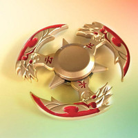 Hand Spinner EDC Stress Relief Metal Bearing Fidget Toy Genji Shuriken Ninja Toy