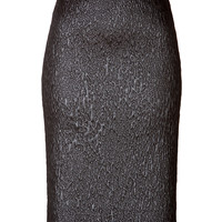 Philosophy di Alberta Ferretti - Textural Jacquard Pencil Skirt