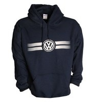 Volkswagen Men's Game Day Hoodie -Navy- Size Extra Large