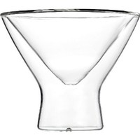 Luigi Bormioli Duos 8-Ounce Martini Stem, Set of 2