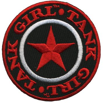 Tank Girl Patch