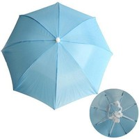 S5Q 5 Colors Foldable Golf Fishing Hunting Camping Sun Brolly Umbrella Hat Cap  AAAAZP