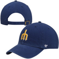 47 Brand Seattle Mariners Cleanup Adjustable Hat - Royal Blue