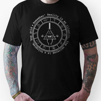 Bill Cipher - Dark Unisex T-Shirt