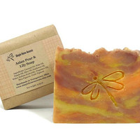 Asian Pear and Lily Soap, Handmade Soap, Vegan Soap, Gift under 10