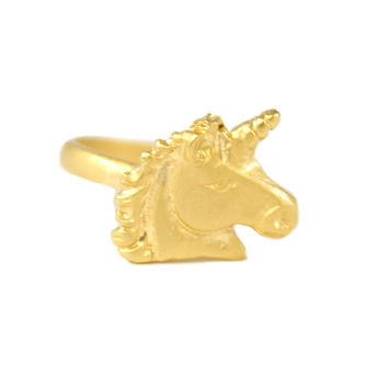 Unicorn Knuckle Ring