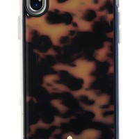 kate spade new york tortoishell iPhone X case | Nordstrom