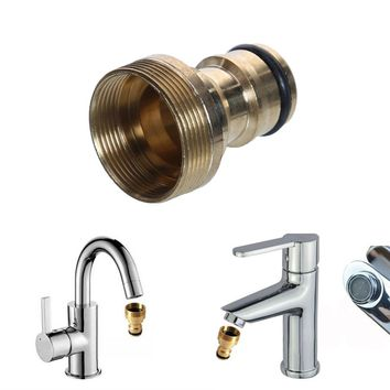 1PC Universal Hose Tap Connector Mixer Hose Adaptor Water Pipe Joiner Fitting Garden Water Connectors Watering Tools