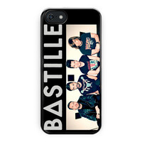 Bastille Rock Band Poster Logo iPhone 5/5S Case